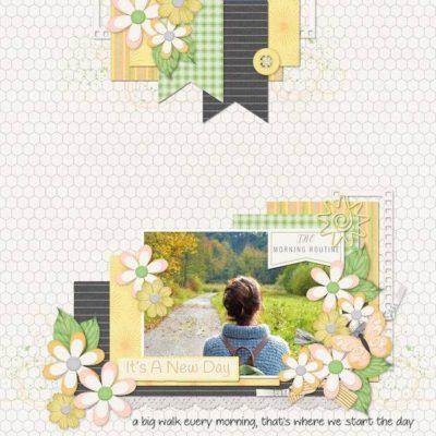 Morning Story Digital Scrapbook Kit