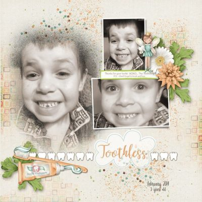 Toothless Digital Scrapbook Collection
