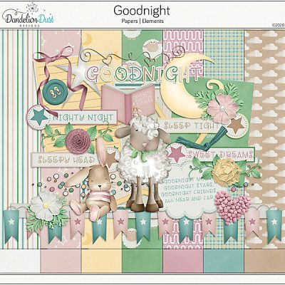 Goodnight Digital Scrapbook Collection