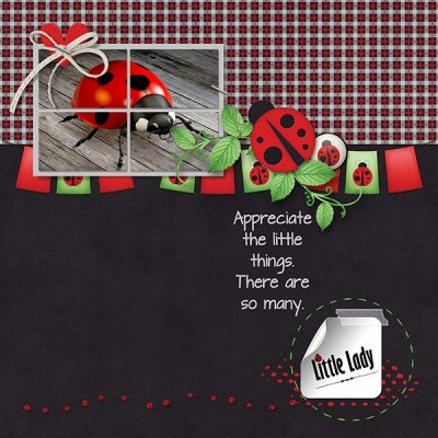 Little Lady Digital Scrapbook Kit