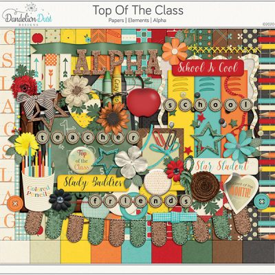 Top Of The Class Digital Scrapbook Collection