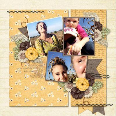 Indian Summer Digital Scrapbook Collection