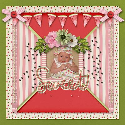Watermelon Wishes Digital Scrapbook Collection