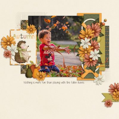 Autumn Winds Digital Scrapbook Collection