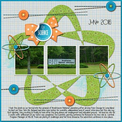 Science Day Digital Scrapbook Collection