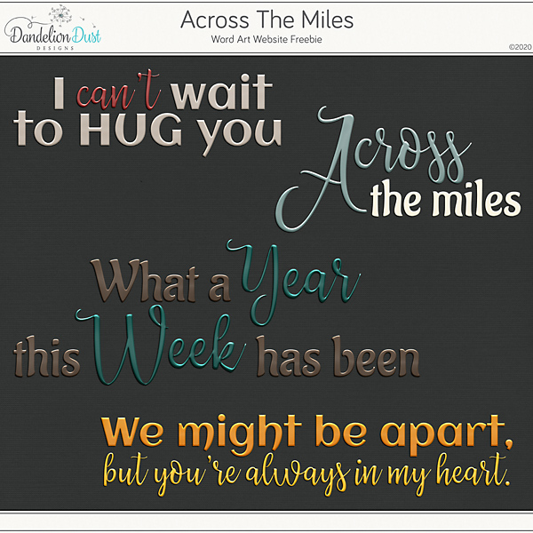 Across The Miles Freebie 04