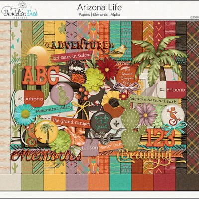 Arizona Life Digital Scrapbook Collection
