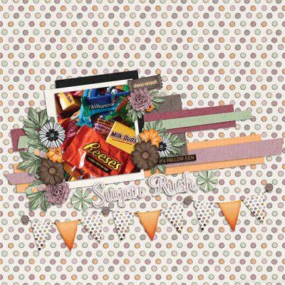 Candy Stash Digital Scrapbook Collection