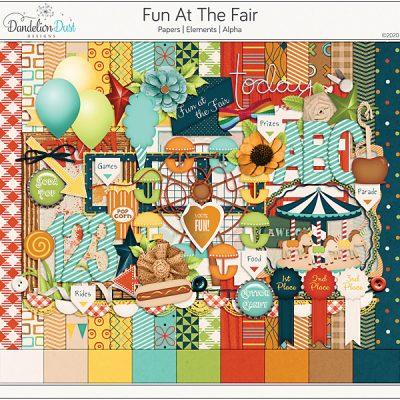 Fun At The Fair Digital Scrapbook Collection
