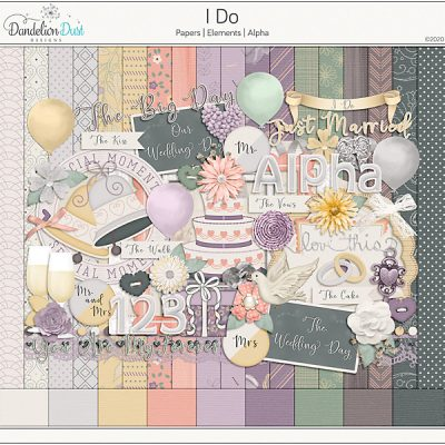 I Do Digital Scrapbook Collection