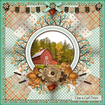 Fall On The Farm Digital Scrapbook Collection