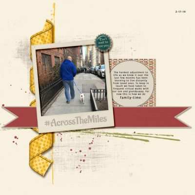 Across The Miles Digital Scrapbook Collection