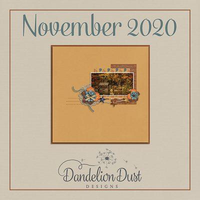 November 2020 Step by Step Challenge