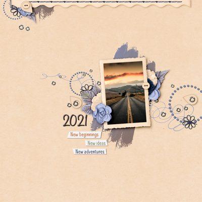 Looking Forward Digital Scrapbook Collection