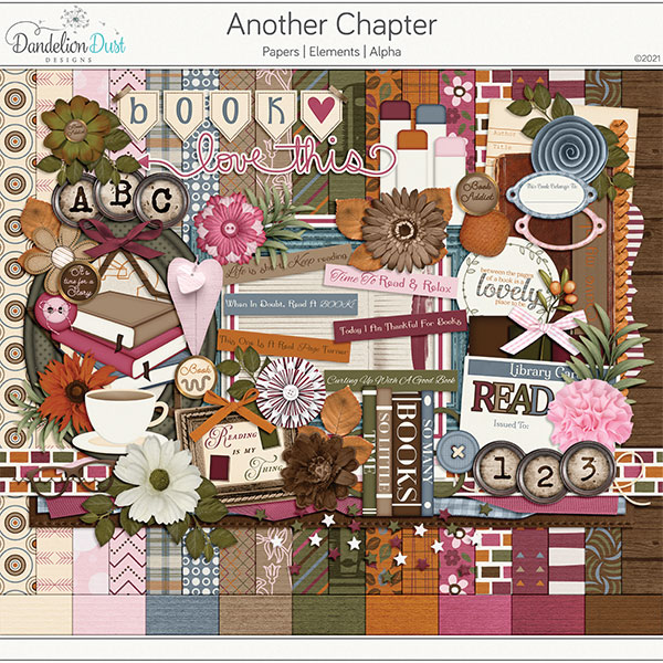 Another Chapter Digital Scrapbook Collection