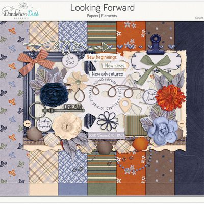 Looking Forward Digital Scrapbook Collection