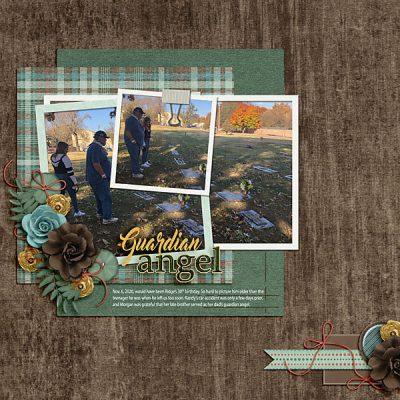 Snapshots Of January Digital Scrapbook Collection