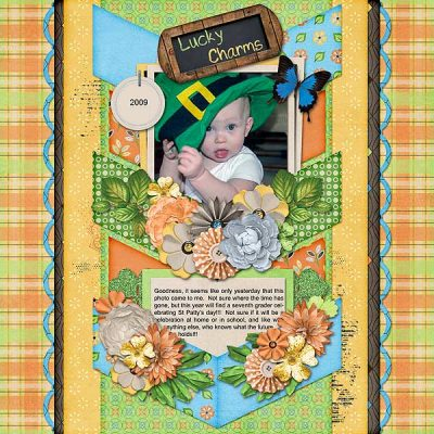 Lucky Charms Digital Scrapbook Collection