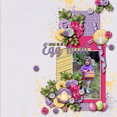 Snapshots Of April Digital Scrapbook Collection