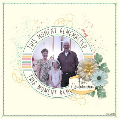 All The Firsts Digital Scrapbook Collection
