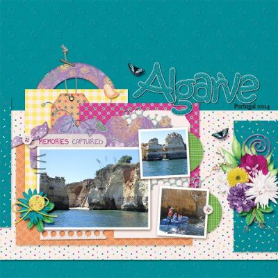 Oh Happy Day Digital Scrapbook Collection