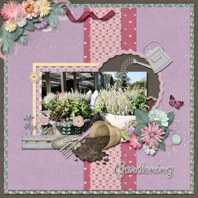 Snapshots Of May Digital Scrapbook Collection