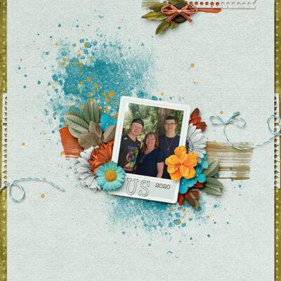 Snapshots Of August Digital Scrapbook Collection