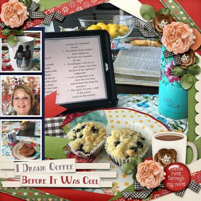 The Daily Grind Digital Scrapbook Collection