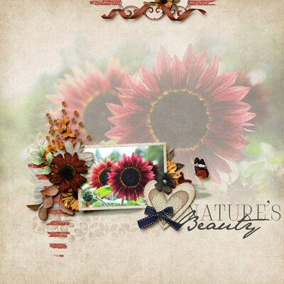 Snapshots Of September Digital Scrapbook Collection