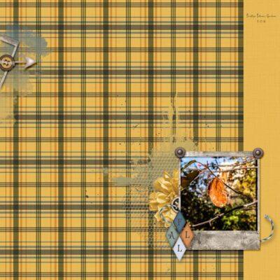 Farmhouse Fall Digital Scrapbook Collection