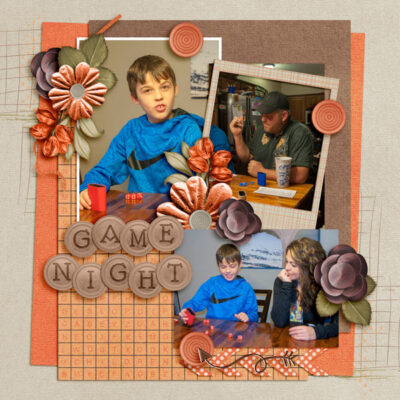 It's Game Time Digital Scrapbook Collection