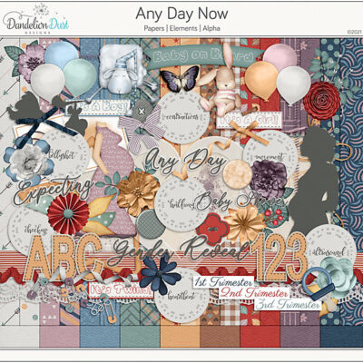 Any Day Now Digital Scrapbook Collection