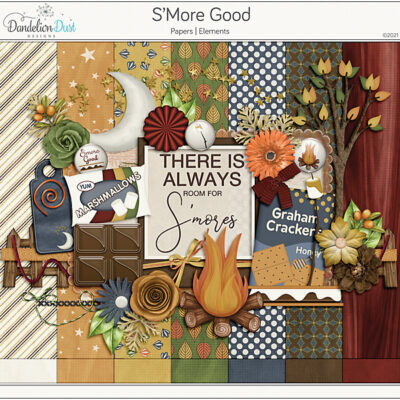 S'more Good Digital Scrapbook Collection